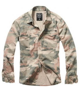 Chemise Camouflage Homme