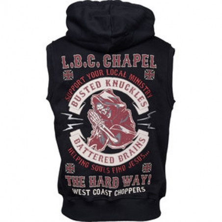 West Coast Choppers Sweat Capuche Chapel