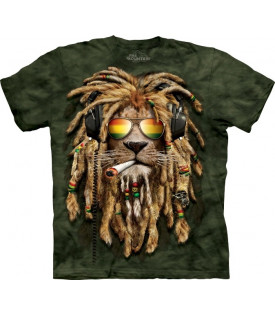 T-Shirt Lion Rasta Reggae