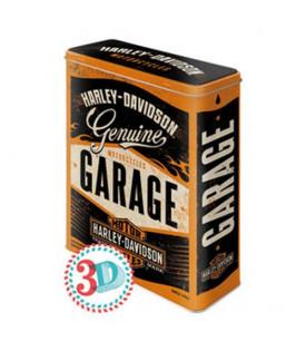 Boite De Conservation Harley Davidson Garage