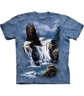 Tee-Shirt Aigle Sur Cascade