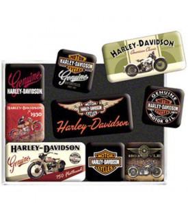 Aimant Harley Davidson Décoration