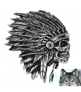 Pin's Indien Apache