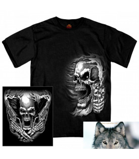 Tee Shirt Skull Assassin