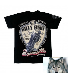 T-Shirt Billy Eight Moto Spedway