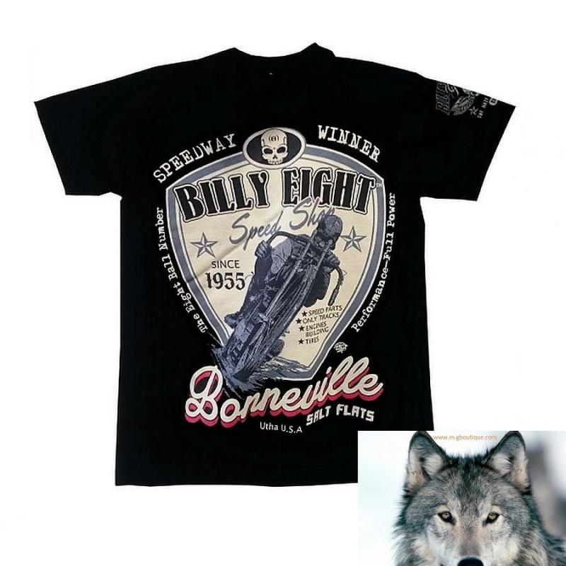 T Shirt Billy Eight Moto Spedway