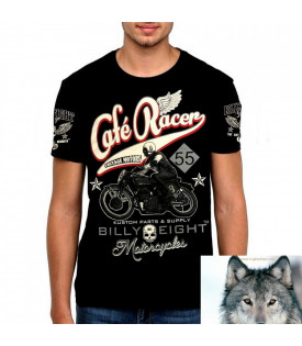 T-Shirt Billy Eight Café Racer