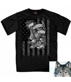 T-shirt Let Freedom Ride