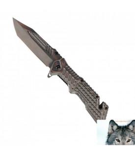 Couteau Alligator Argent
