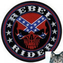 Patch Rebel Rider Crane Biker