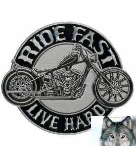 Patch Ride Fast Moto