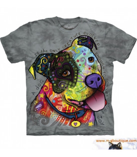 Tee-Shirt Chien Jack Russell Adulte
