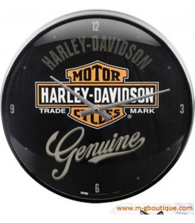 Horloge murale Harley Davidson Genuine