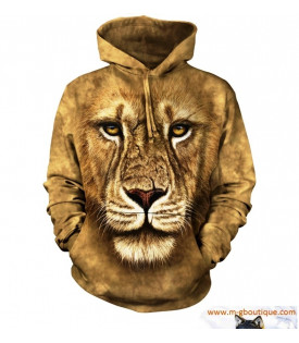 Veste Capuche Lion Warrior