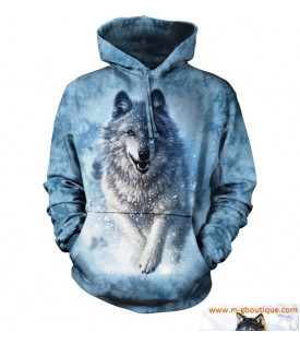 SWEAT CAPUCHE LOUP Snow Plow