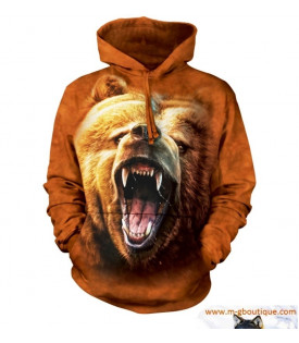 SWEAT CAPUCHE GRIZZLI