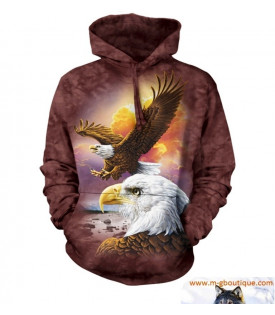 SWEAT CAPUCHE AIGLES