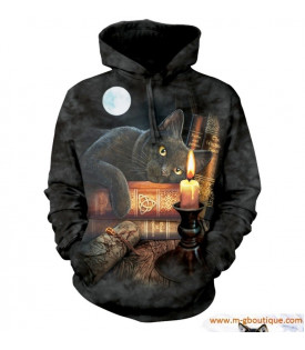 SWEAT CAPUCHE Chat Gothique