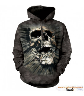 SWEAT-SHIRT À CAPUCHE SKULL