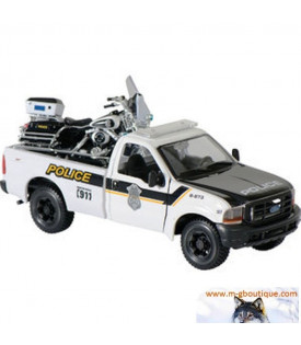 Police Pickup Electra Glide