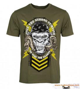 T-shirt Gorille Serpent