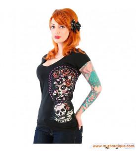 T-shirt Femme Cranes Mexicain
