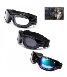 Lunettes Goggles Biker Moto...