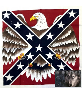 Bandana drapeau rebel aigle...