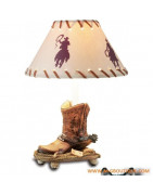 Lampes Indien Western