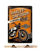 Harley Davidson Plaque Murale De Décoration